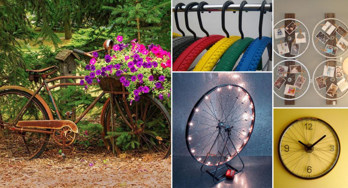 Velo pour decoration jardin - Design en image