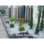 Décoration bordure jardin