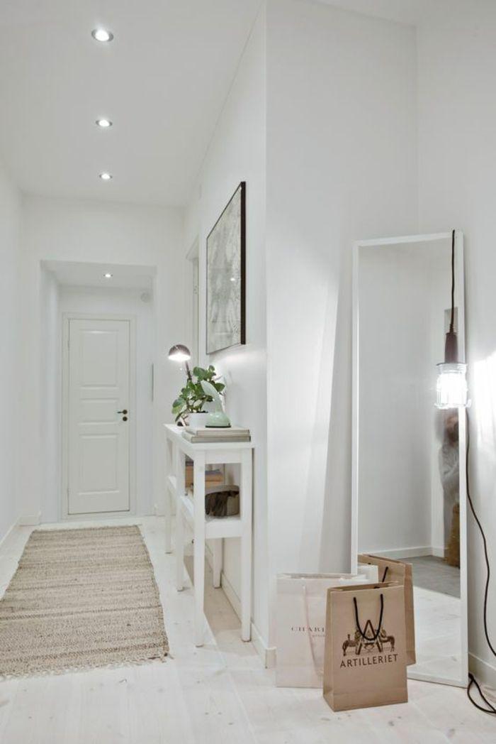 Décoration d\'une grande entrée de maison - Design en image