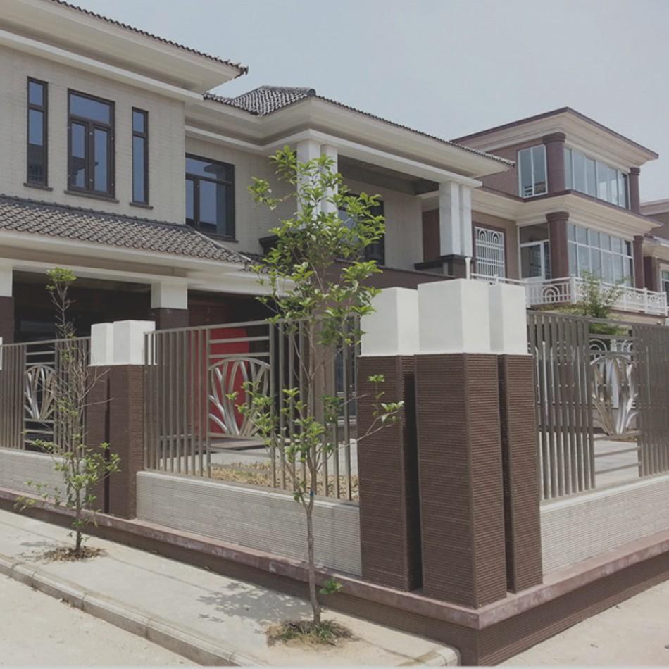 Decoration mur facade exterieur maison - Design en image