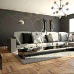 Decoration moderne de salon
