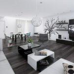Decoration interieur moderne noir et blanc - Design en image