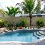 Décoration jardin avec piscine