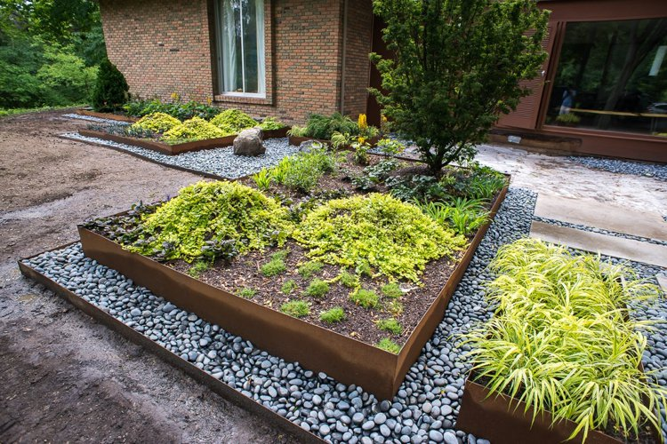 Idee decoration bordure jardin - Design en image