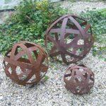 Boules decoration pour jardin