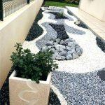 Galet décoration jardin