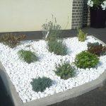 Cailloux de décoration jardin