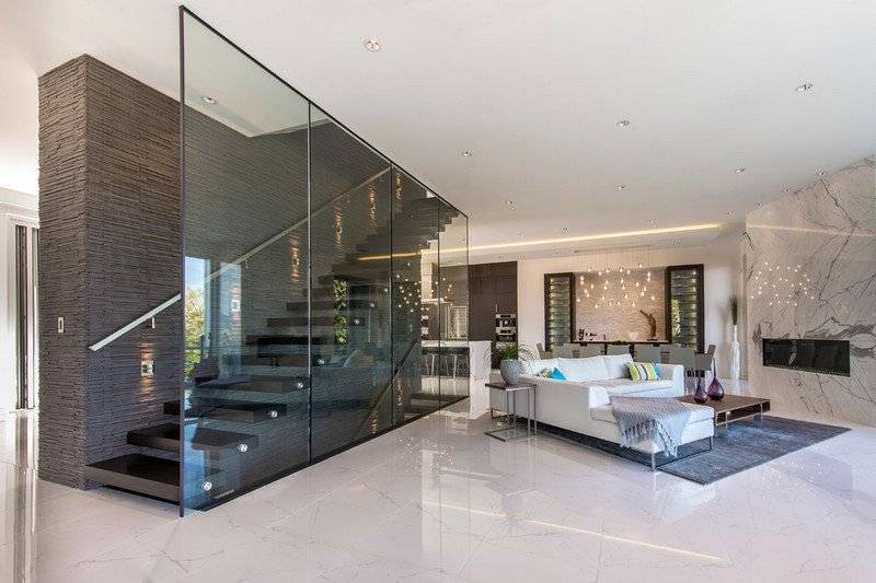 Decoration interieur carrelage blanc - Design en image