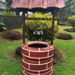 Décoration de jardin avec des pneus