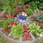 Charrette decoration jardin