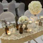 Décoration de table mariage fait maison