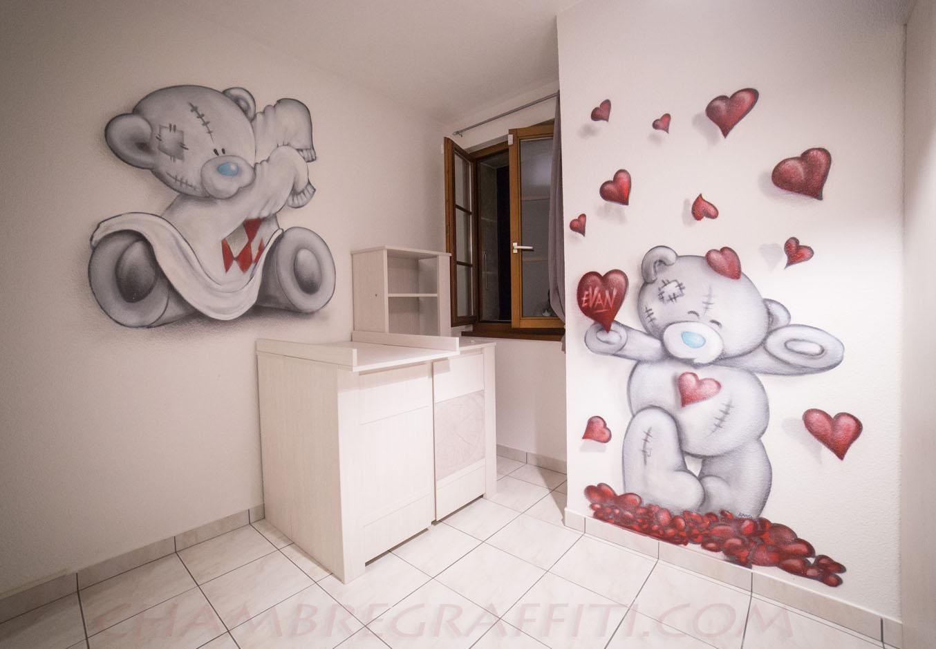 Decoration Murale Enfant Ours