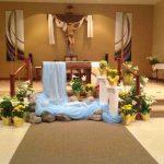 Decoration design for church altar