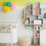 Décoration murale en bois chambre bébé