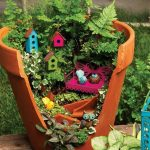 Récupération décoration jardin