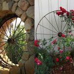 Objets decoration jardin