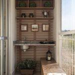 Decoration design balcon