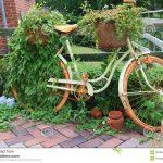 Velo de decoration pour jardin