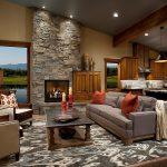 Decoration interieur bois pierre