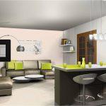 Décoration cuisine ouverte sur salon
