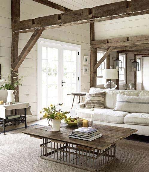 Décoration maison style rustique - Design en image