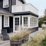 Decoration petite maison bord de mer danemark