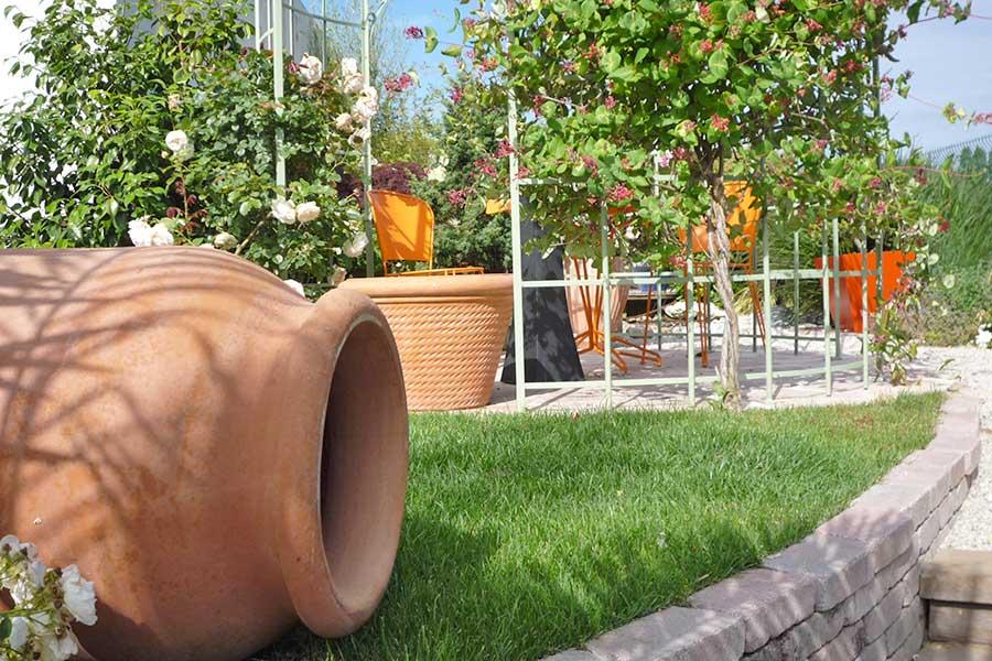 Décoration jardin tours