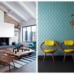 Decoration interieur bleu canard