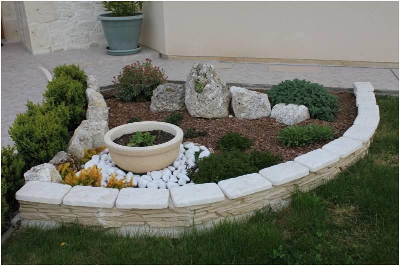 Décoration De Jardin Avec Des Pierres Design En Image