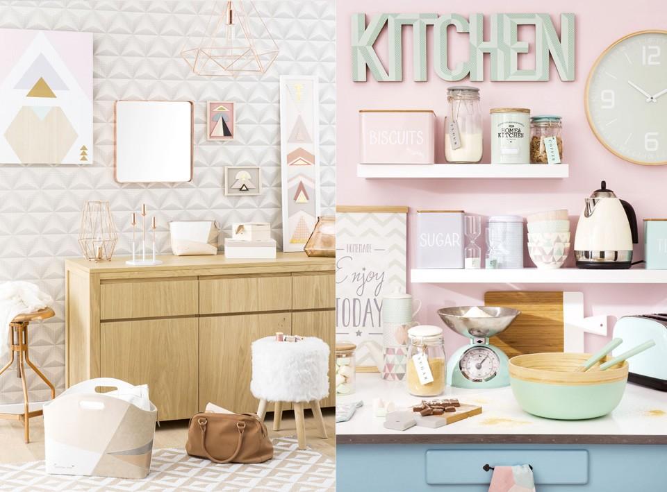 Décoration pastel maison