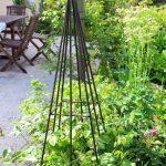 Decoration en fer pour jardin