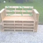 Banc decoration jardin