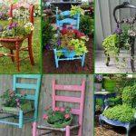 Décoration de jardin en palette