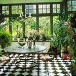 Decoration interieur jardin d'hiver