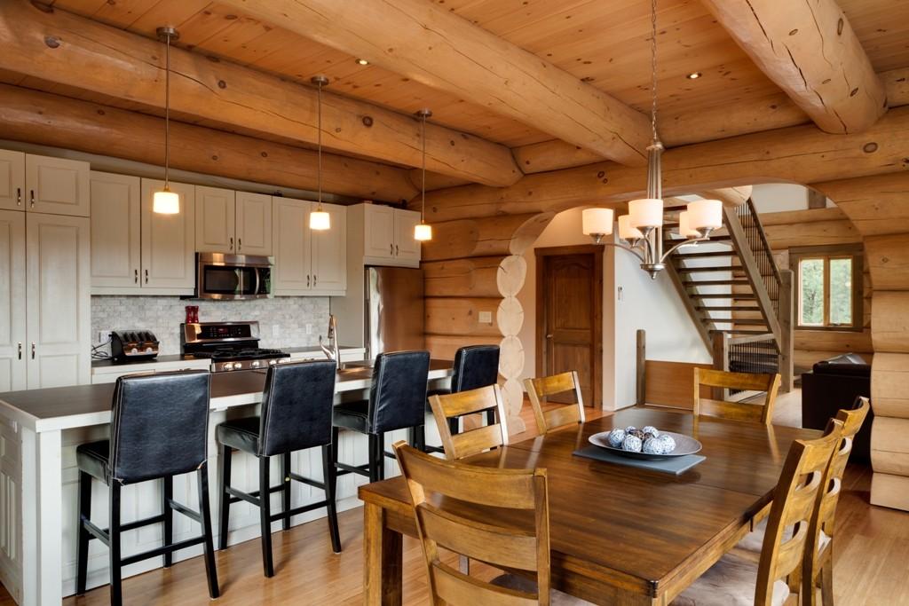 Decoration interieur de maison en bois - Design en image