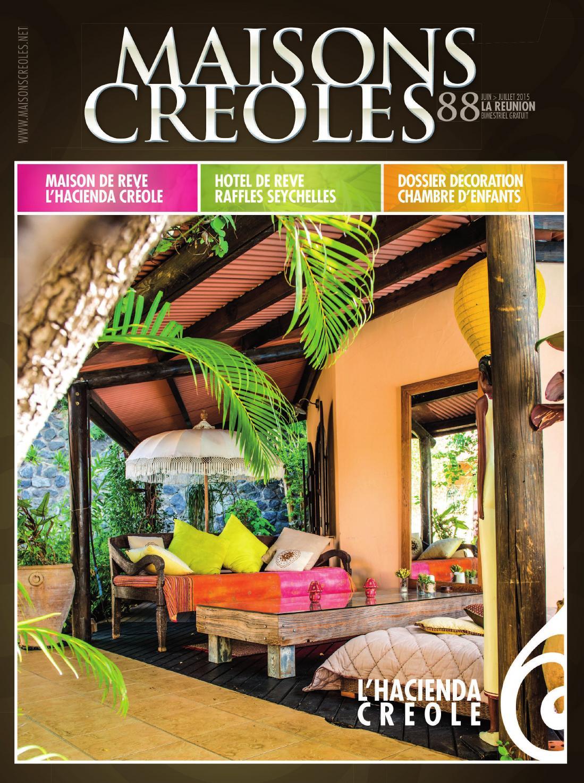 Décoration maison creole