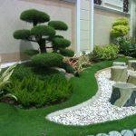 Pierre blanche decoration jardin