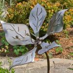 Decoration de jardin en acier
