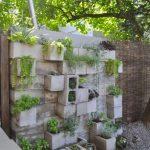 Decoration mur de jardin
