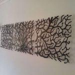 Décoration murale en métal pas cher