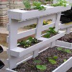 Décoration de jardin avec des palettes