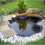 Decoration petit bassin de jardin