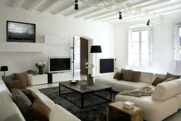Photo decoration salon contemporain - Design en image