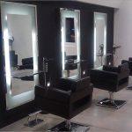 Décoration salon de coiffure pour homme
