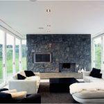 Décoration salon avec canapé blanc