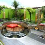 Decoration terrasse de jardin