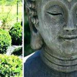 Decoration bouddha pour jardin