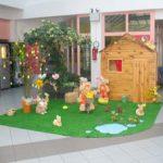 Decoration jardin paques