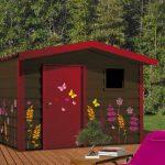 Decoration cabane de jardin
