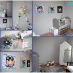Décoration murale chambre bébé pas cher